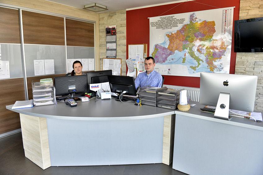 Spedycja - biura